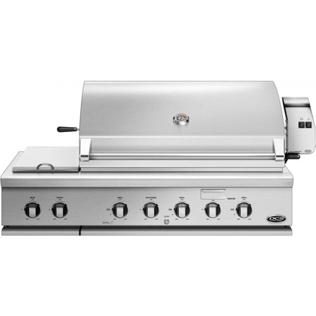 DCS 48 Inch Traditional Grill with Rotisserie and Side Burners