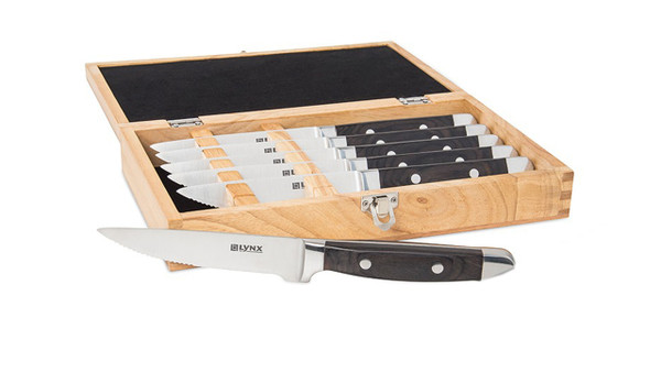 Sedona Lynx Steak Knife Box Set