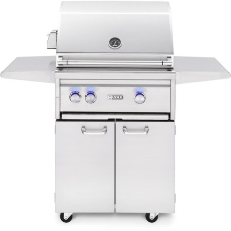 Lynx 27 Inch Freestanding Grills- 1 Trident with Rotissorie