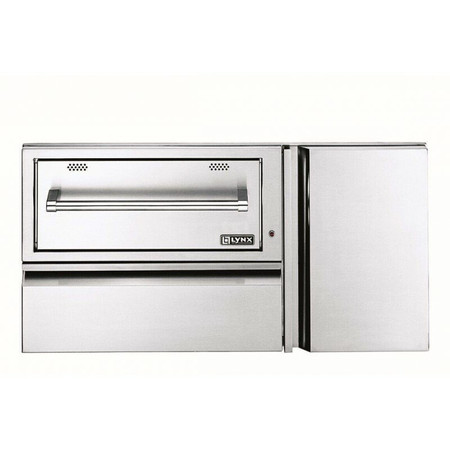 Lynx 42 Inch Convenience Center with WD, drawer & tank storage
