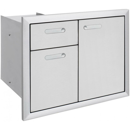 Lynx Ventana 30 Inch Trash Drawers Combo Unit