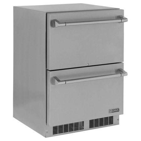 Lynx 24 Inch Two Drawer Refrigerator