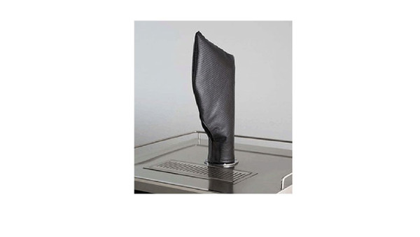 Lynx Beverage Dispenser Tower - Tap Head Carbon Fiber Vinyl Cover