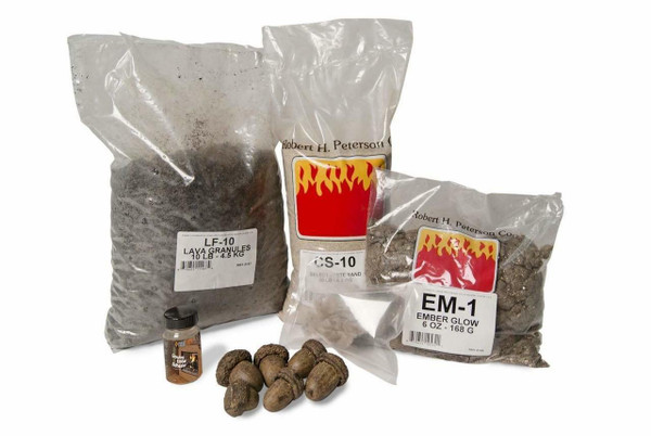 Real Fyre Refresh Kit for Vented Gas Logs Kits