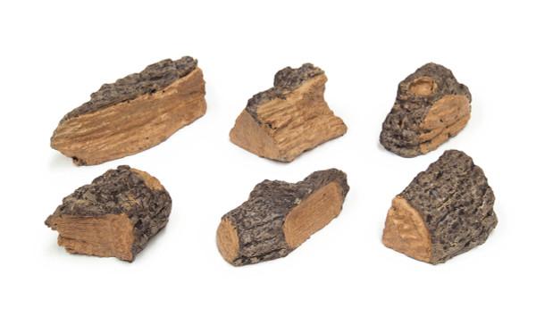 Real Fyre Designer Wood Chips - Set of 6