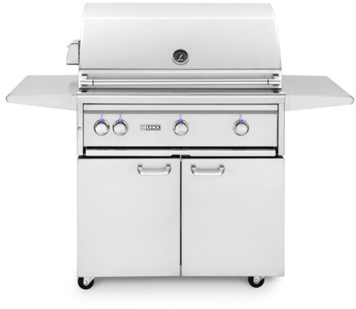 "Lynx 36"" Freestanding Grills- 1 Trident with Rotisserie"