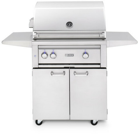 "Lynx 30"" Freestanding Grills- 1 Trident with Rotisserie (L30TRF)"
