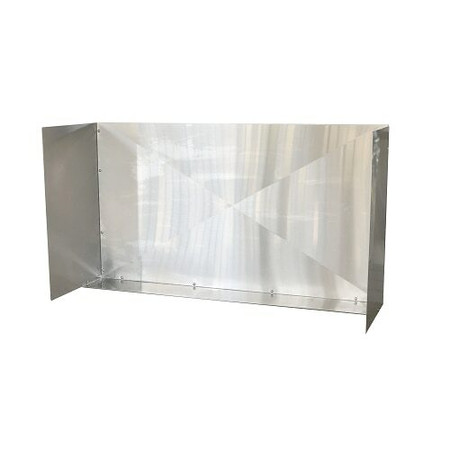 """RCS 48"""" Stainless Large Wind Guard (RWGL)"""