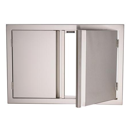 """RCS Valiant Stainless Double Door-45"""" Wide"""
