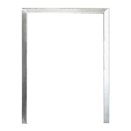 SummerSet Stainless Steel Refrigerator Trim / Surround for SSRFR-24S, 24D, 24DR2, 24DWC, 24DK1, 24DK2