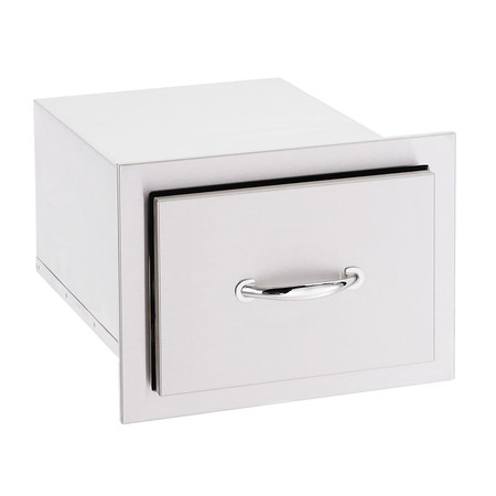 """17"""" North American Stainless Steel Single Drawer (SSDR1-17)"""
