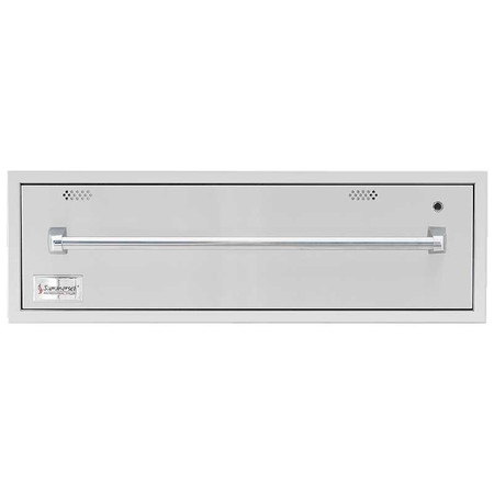 "SummerSet 36"" North American Stainless Steel Warming Drawer (SSWD-36)"