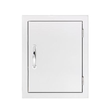 North American Stainless Steel Vertical Access Door w/ Masonry Frame Return (Reversible-Swing) (SSDV-20M)