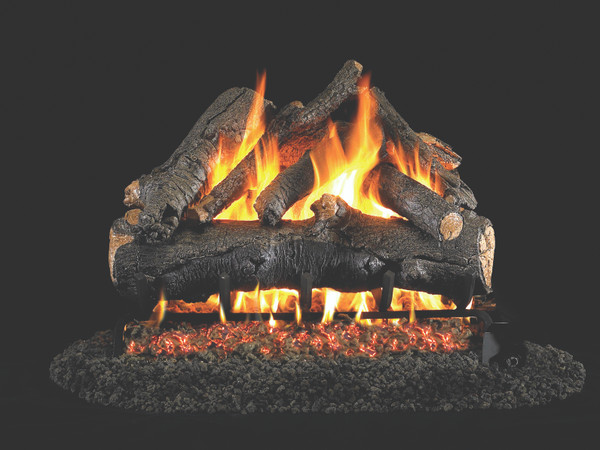 Real Fyre American Oak Vented Gas Logs (AO-18), 18-Inch