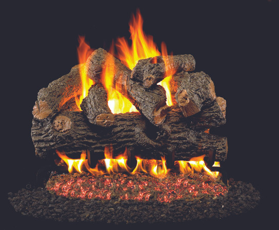 Real Fyre Royal English Designer Vented Gas Logs (BD-18), 18-Inch