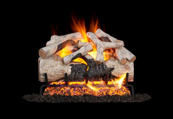 Real Fyre Burnt Aspen Vented Gas Logs (BTA-18), 18-Inch