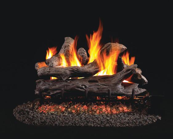Real Fyre See-Thru Coastal Driftwood Vented Gas Logs (CDR-36), 36-Inch