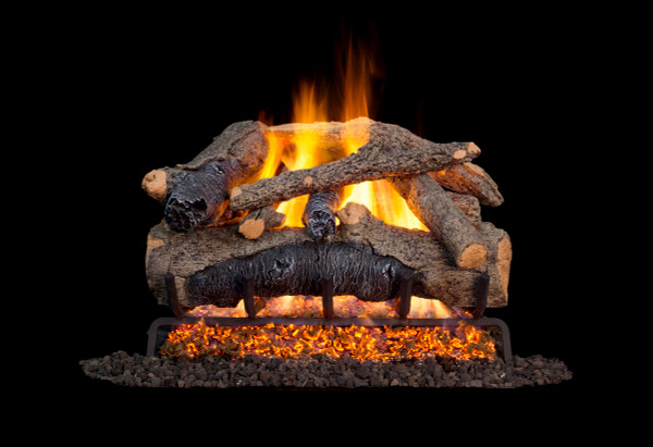 Real Fyre Colonial Oak Vented Gas Logs (COLO-24), 24-Inch