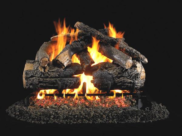 Real Fyre Pioneer Oak Vented Gas Logs (PN-30), 30-Inch