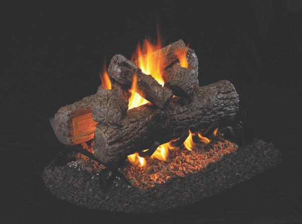 Real Fyre See-Thru Golden Oak Vented Gas Logs (R-2-36), 36-inch
