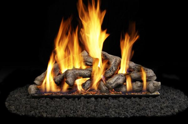 Real Fyre Shoreline Driftwood Vented Gas Logs (SDW-24), 24-Inch