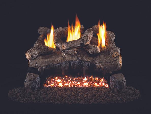 Real Fyre Evening Fyre Vent-Free Gas Logs (EFV-24), 24-Inch