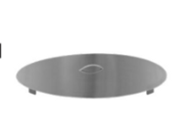 Firegear Stainless Steel Burner Cover, Round (LID-33R2)