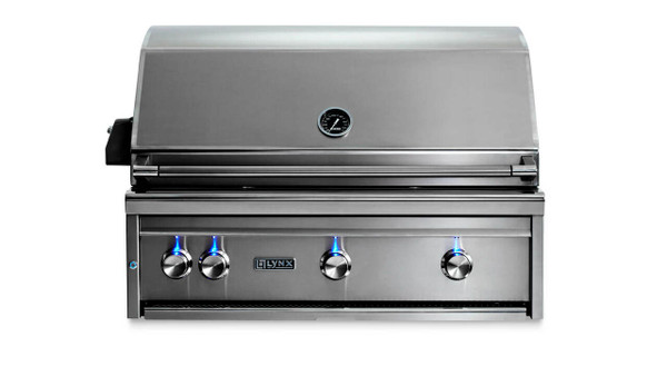 Lynx Built-in Grills- 1 Trident with Rotisserie (L36TR)