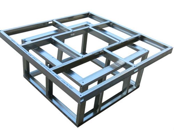 "48"" x 48"" DIY BBQ Fire Pit Frame Kit (48x48FirepitFrame)"