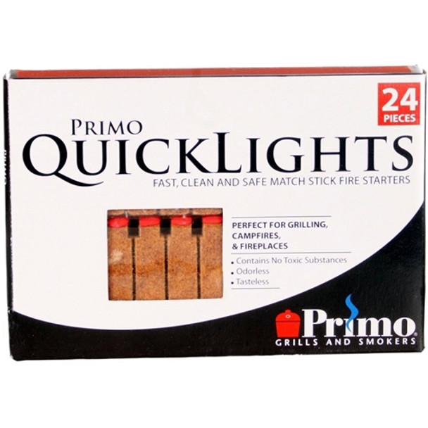 PrimoQuick Lights Fire Starters, 24-Pieces per box
