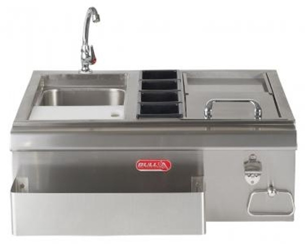 "Bull BBQ 30"" Stainless Steel Bar Center"