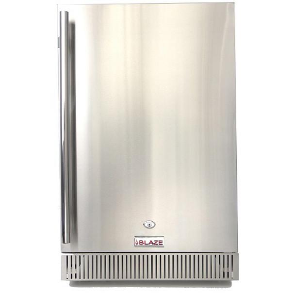 "Blaze Outdoor Rated Stainless 20"" Refrigerator 4.1 CU (BLZ-SSRF-40D"