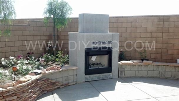 Phenomenal Diy Bbq Outdoor Fireplace Frame Kit Interior Design Ideas Clesiryabchikinfo