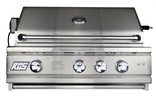 """CS 30"""" (Inch) Cutlass Pro Series Grill, Blue LED with Rear Burner - RON30a"""