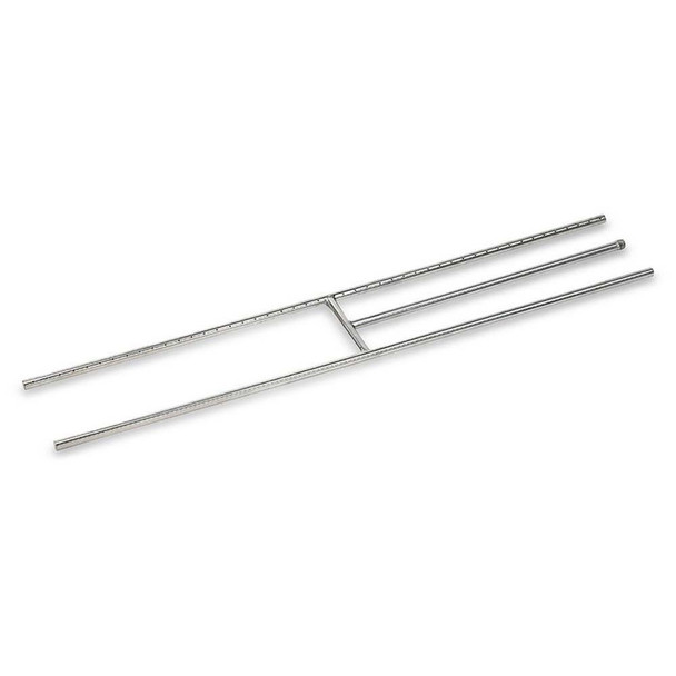"American Fireglass 48"" Stainless Steel H-Burner"