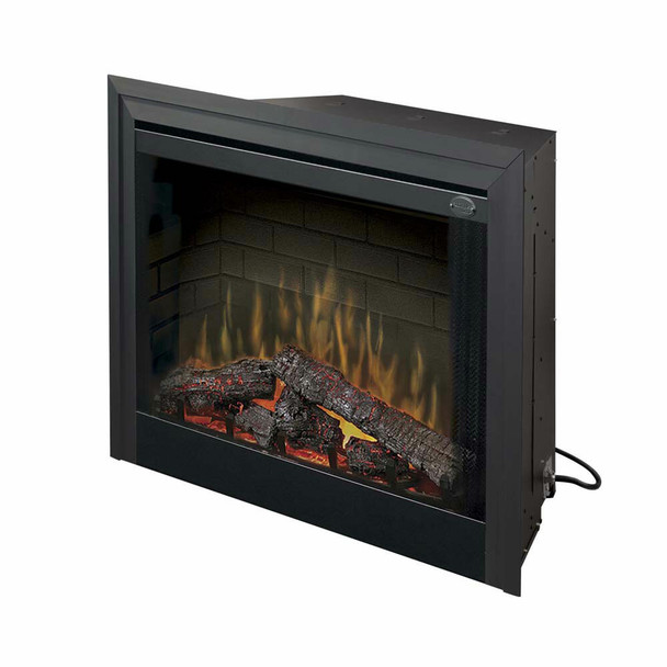 """Dimplex 33"""" Deluxe Built-in Electric Firebox Electric Fireplace"""