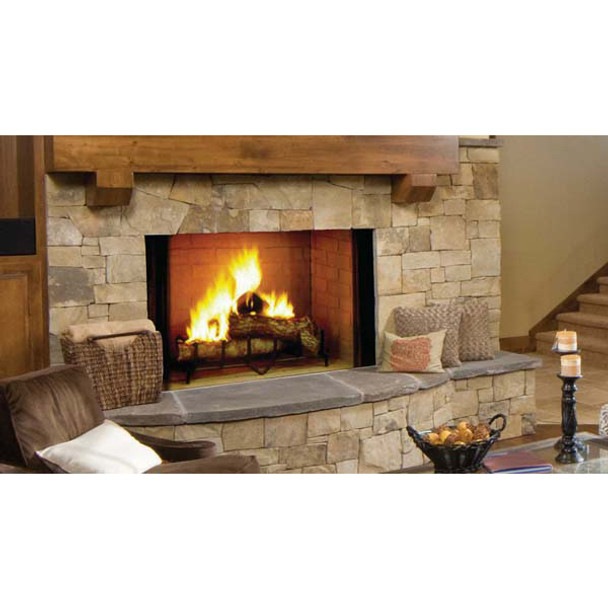 Majestic Biltmore Radiant Wood Burning Fireplace 42 Inch