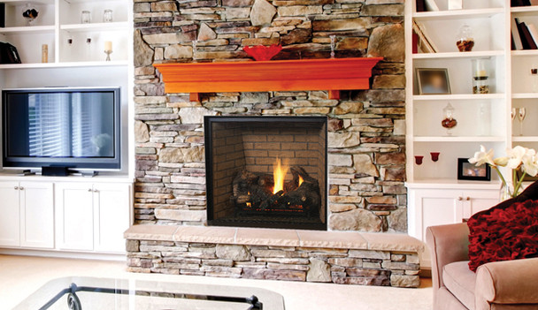 Superior DRT6345TYN 45 Inch Direct Vent Gas Fireplace With Electronic Ignition