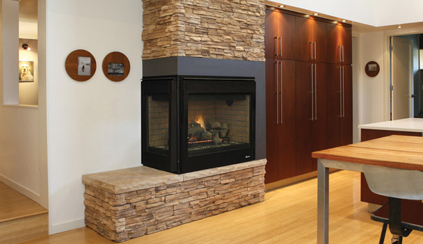 Superior DRT40ST 40 Inch Direct Vent Fireplace With Millivolt Remote Ready