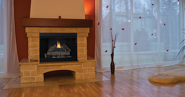 Superior VRCT2036 36 Inch Vent-Free Fireplace - Firebox