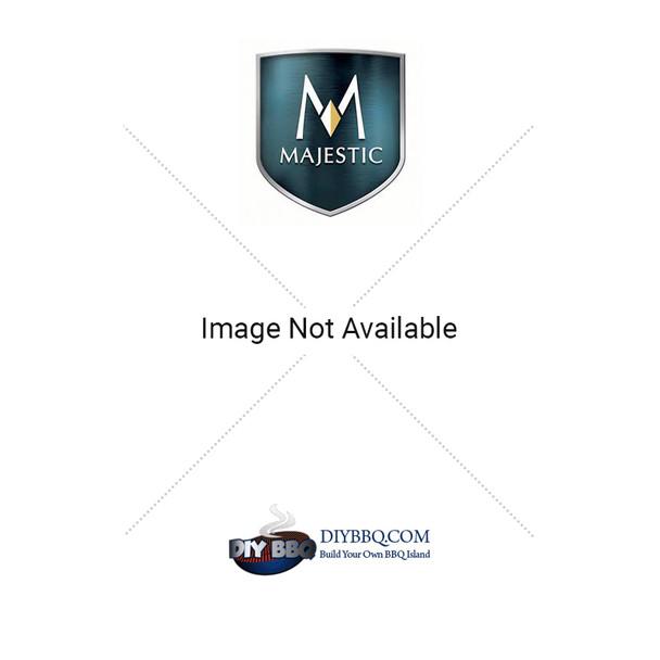 Majestic DVC500SD Decorative Black Mesh Glass Cover
