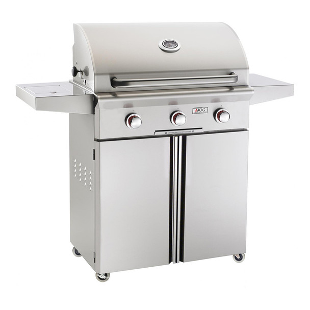 AOG 30-Inch T-Series 3-Burner Freestanding Gas Grill with Rotisserie-30CT