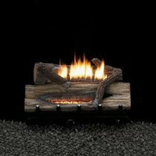 Empire Vent Free Whiskey River Gas Log Set With Basic On-Off Remote Ready