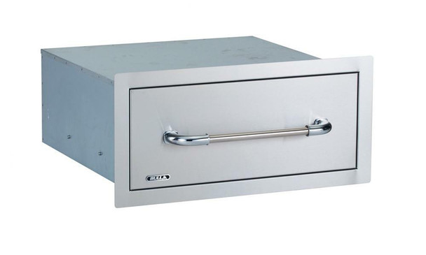 Bull Outdoor Large Single Drawer (24 Inch Depth For Deep Kitchens Only)