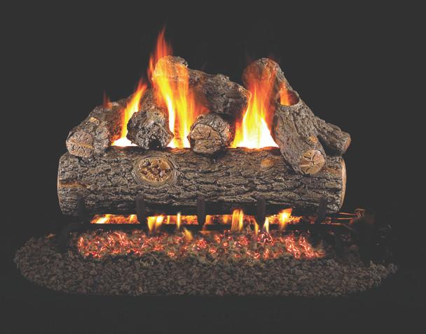 Real Fyre Golden Oak Designer Plus Vented Log Set (RDP-30), 30-Inch