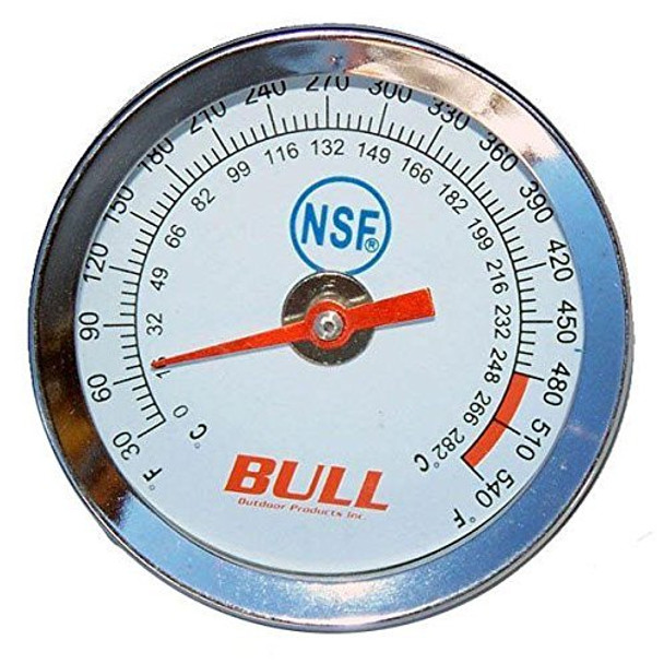 BBQ Grill Bull Temperature Gauge Fits Most Models 16509 OEM