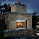 """Stainless Steel 42"""" fireplace insert"""