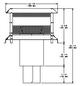 Majestic ST375 Square Termination Cap - 8 Inch Diameter