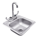 RCS Stainless Sink & Faucet