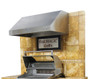 """Fire Magic 42"""" Stainless Steel Vent Hood"""